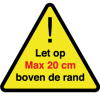 driehoek-20cm