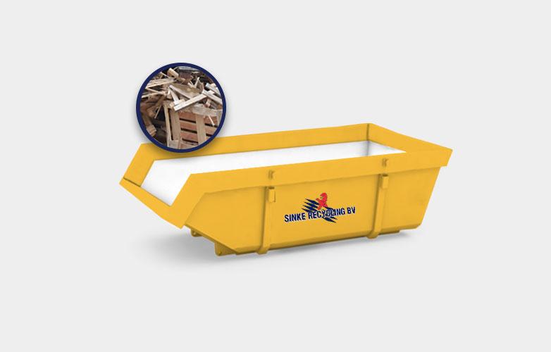 Zeeland Afvalcontainers Houtcontainer Huren Prijs 2020